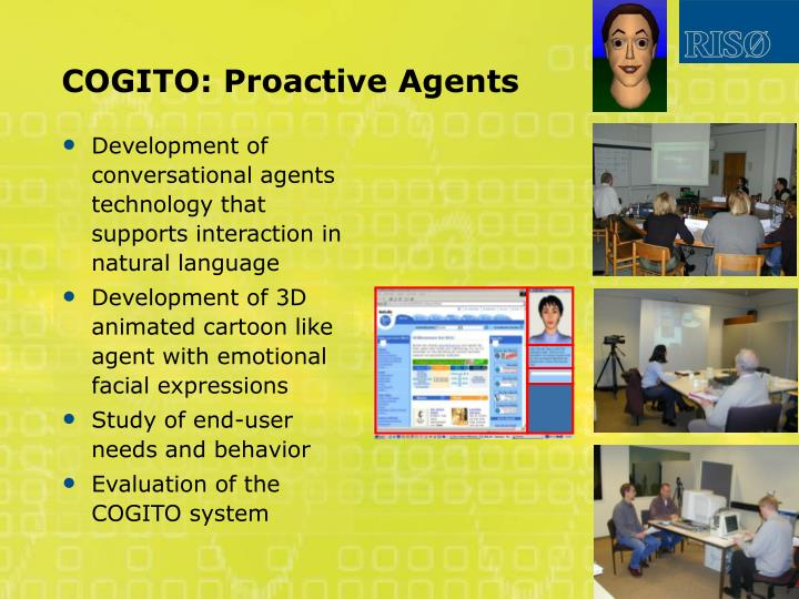 COGITO: Proactive Agents
