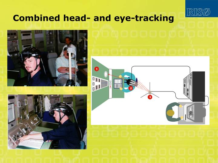 Combined head- and eye-tracking
