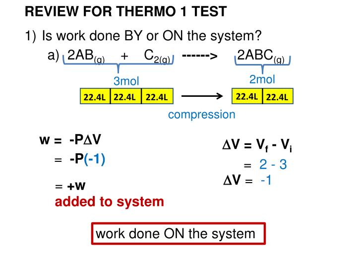 REVIEW FOR THERMO 1 TEST