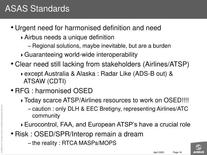 ASAS Standards