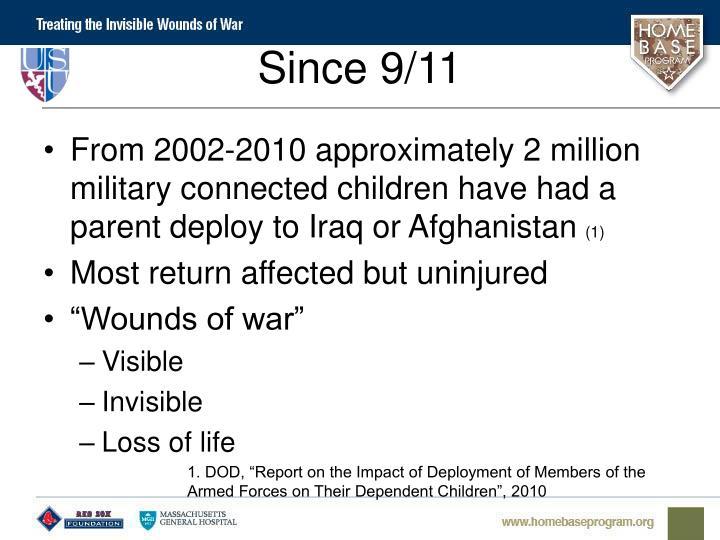 Since 9/11