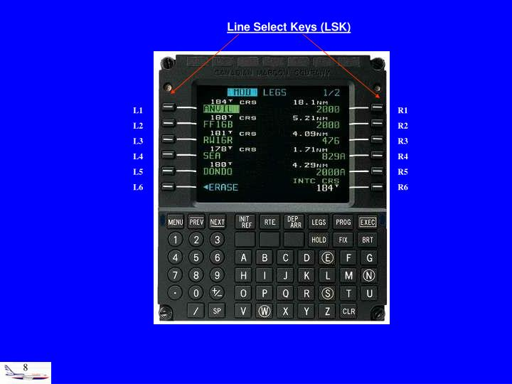 Line Select Keys (LSK)