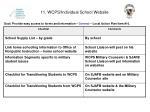 11 wcps individual school website5