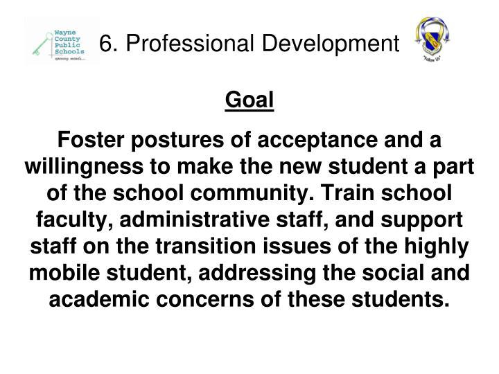 6. Professional Development
