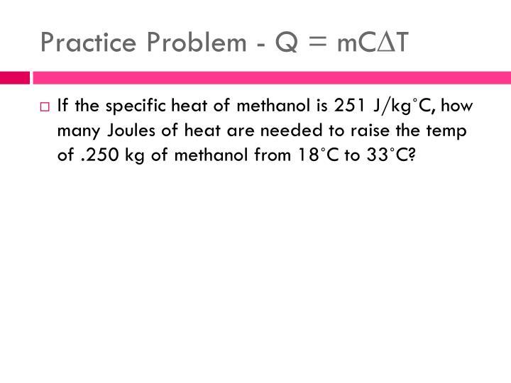 Practice Problem -