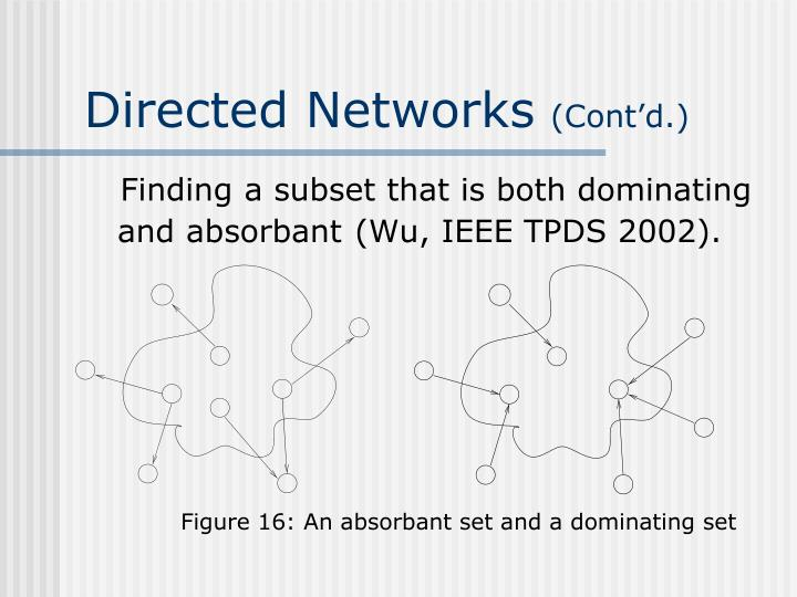 Directed Networks