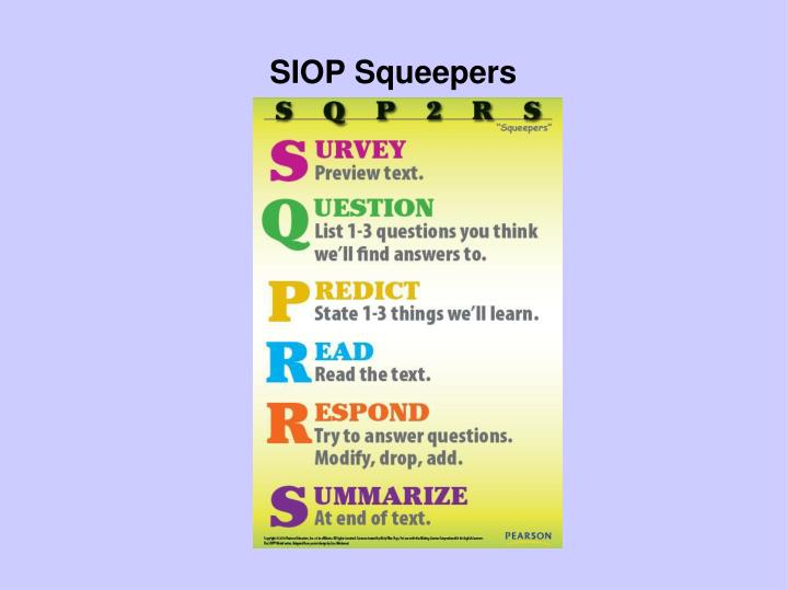 SIOP Squeepers