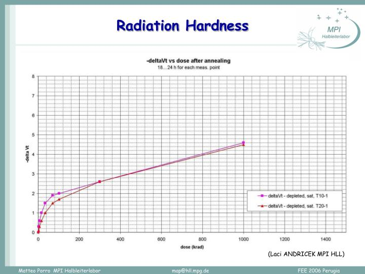 Radiation Hardness