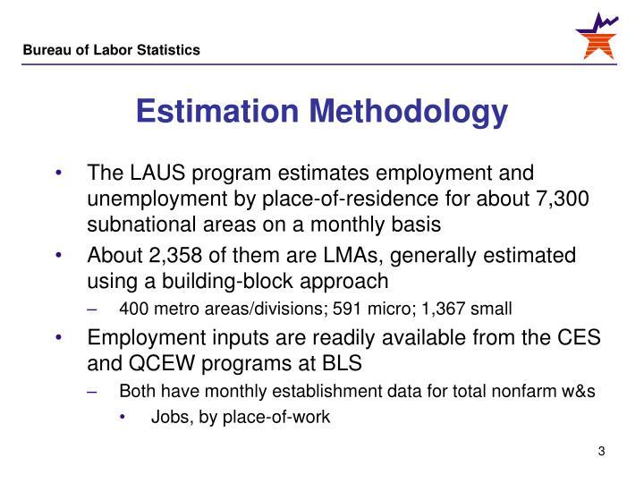 Estimation Methodology