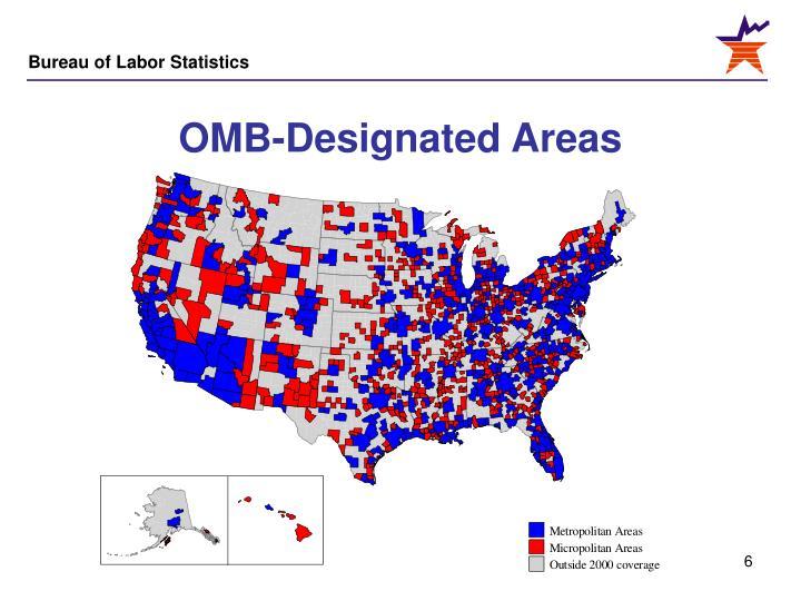 OMB-Designated Areas