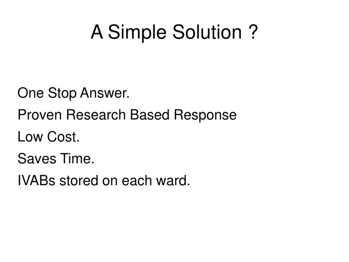 One Stop Answer.