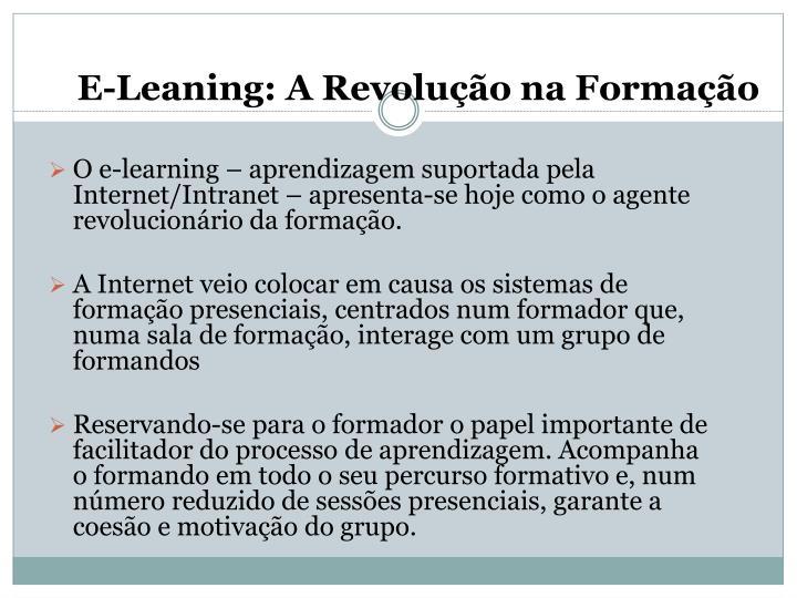 E-Leaning: A Revolução na Formação