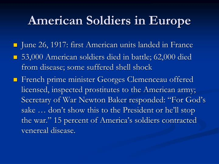 American Soldiers in Europe