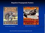 negative propaganda posters