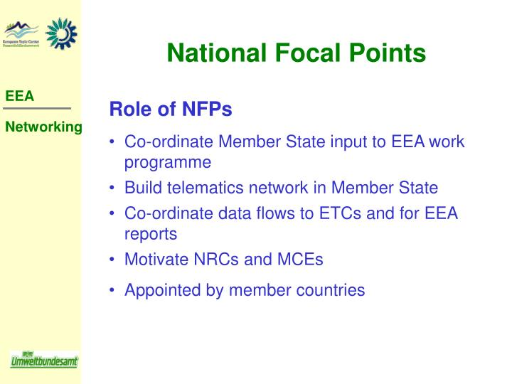 National Focal Points