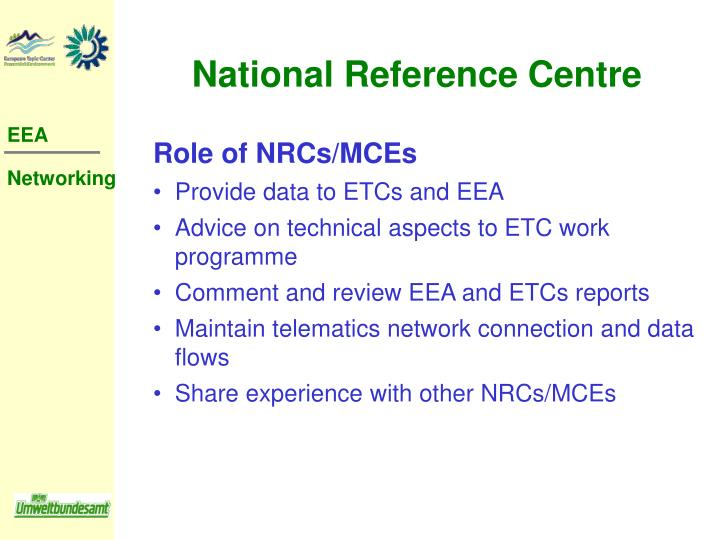 National Reference Centre