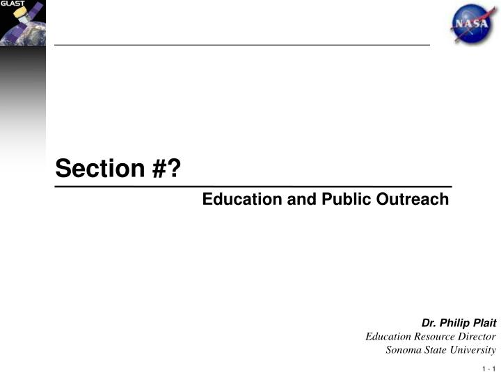 Section #?