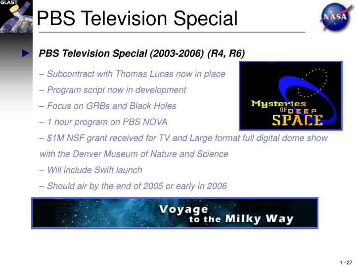 PBS Television Special