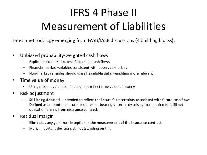 IFRS 4 Phase II