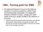 1966 turning point for ems1