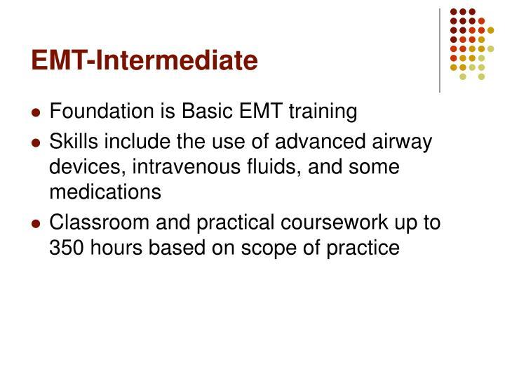 EMT-Intermediate