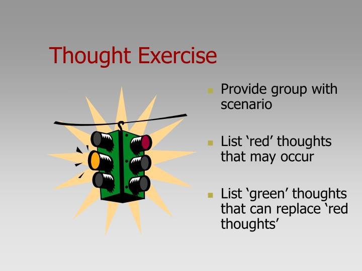 Thought Exercise