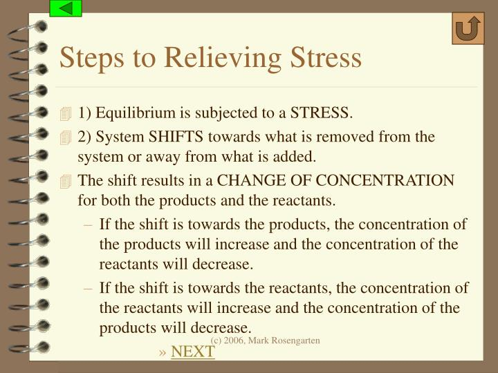 Steps to Relieving Stress