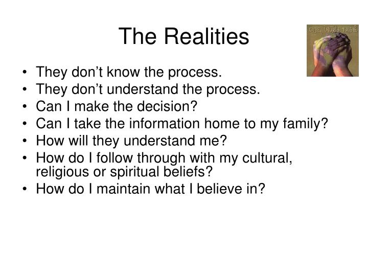 The Realities