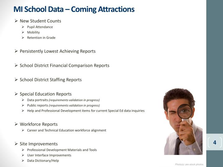 MI School Data – Coming Attractions