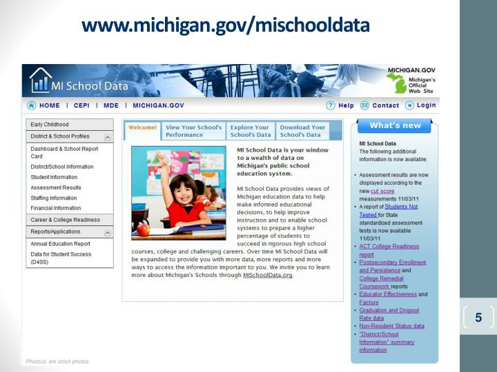 www.michigan.gov/mischooldata
