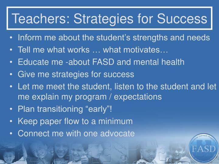 Teachers: Strategies for Success
