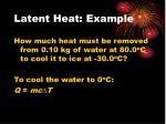 latent heat example2