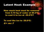 latent heat example5