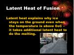 latent heat of fusion2