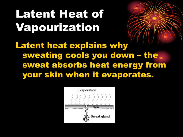 Latent Heat of Vapourization
