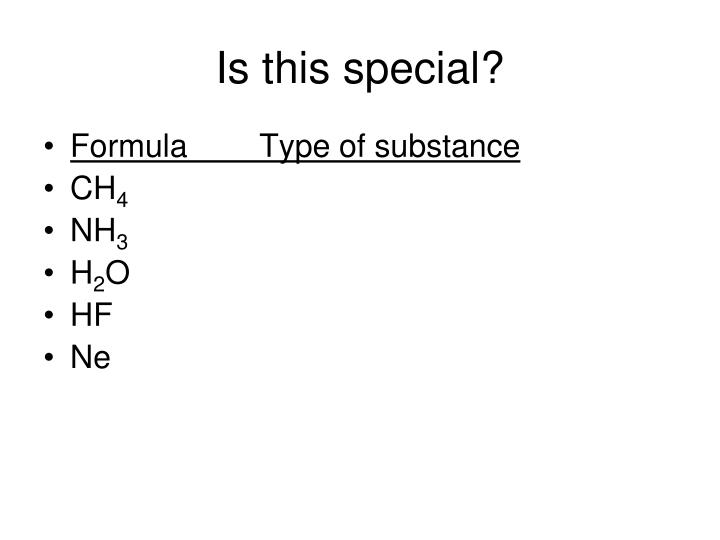 Is this special?