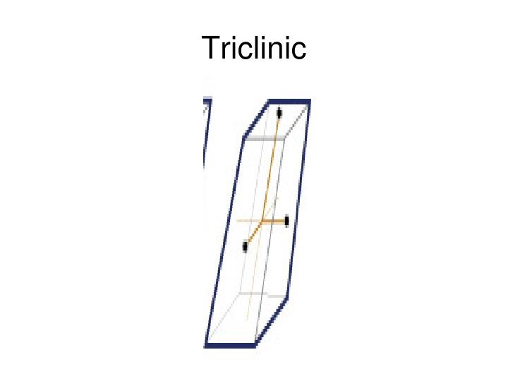 Triclinic