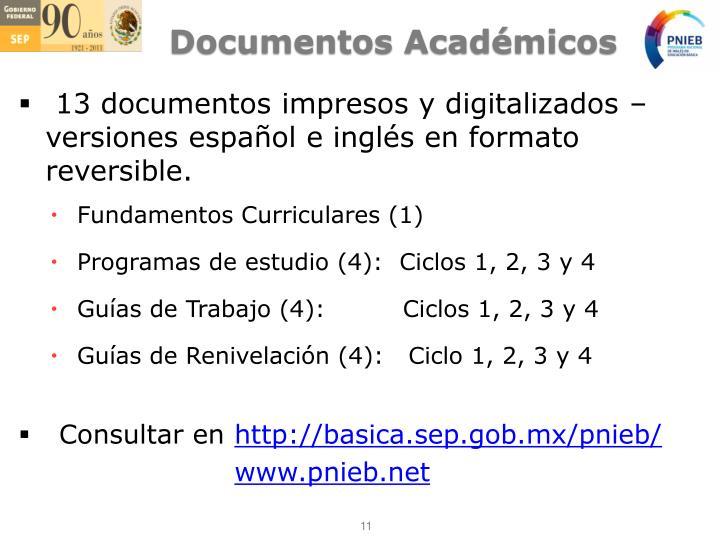 Documentos Académicos