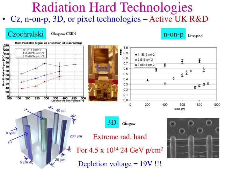 Radiation Hard Technologies