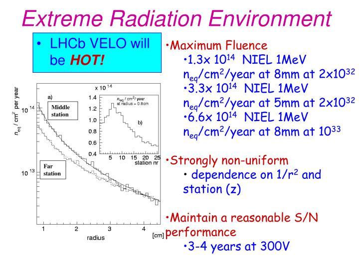 Extreme Radiation Environment
