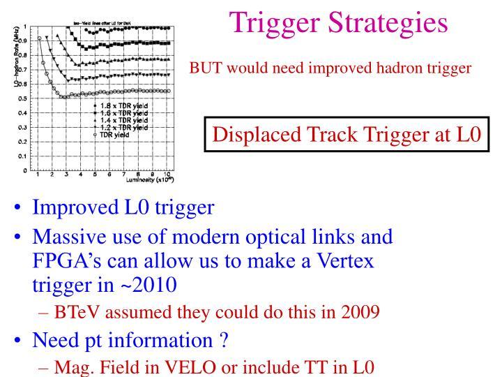 Trigger Strategies