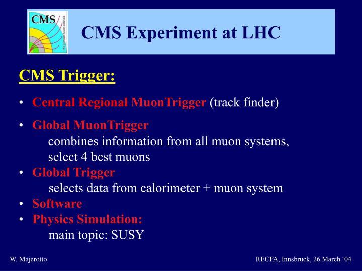 CMS Trigger: