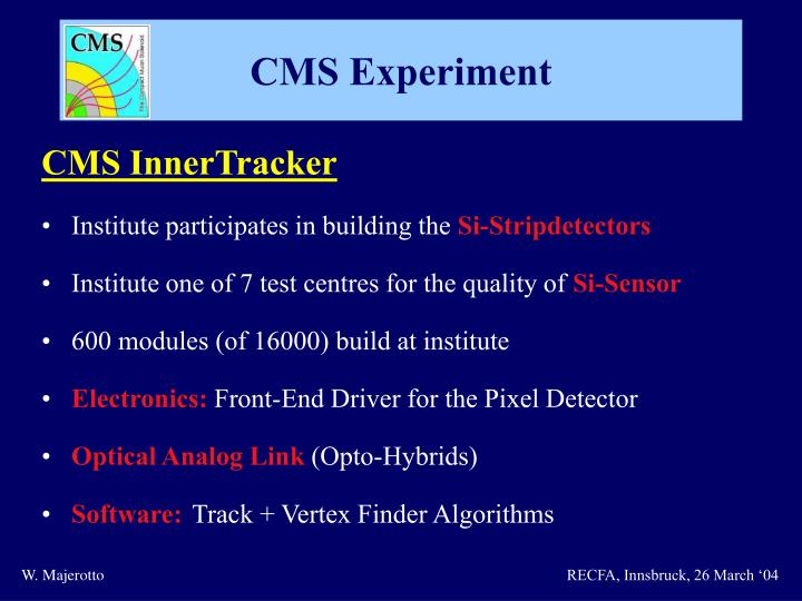 CMS InnerTracker