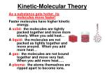 kinetic molecular theory1