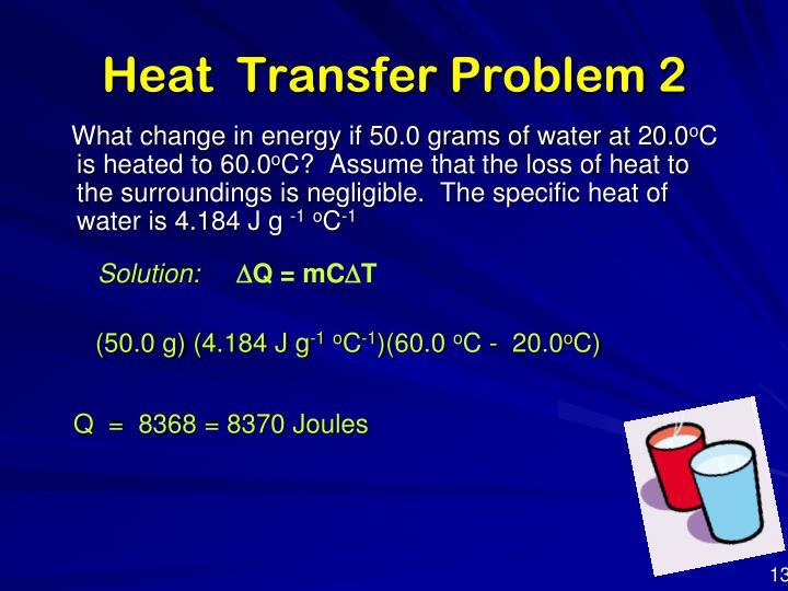 Heat  Transfer Problem 2