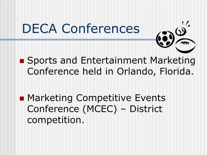 DECA Conferences