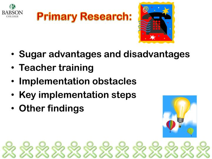 Primary Research: