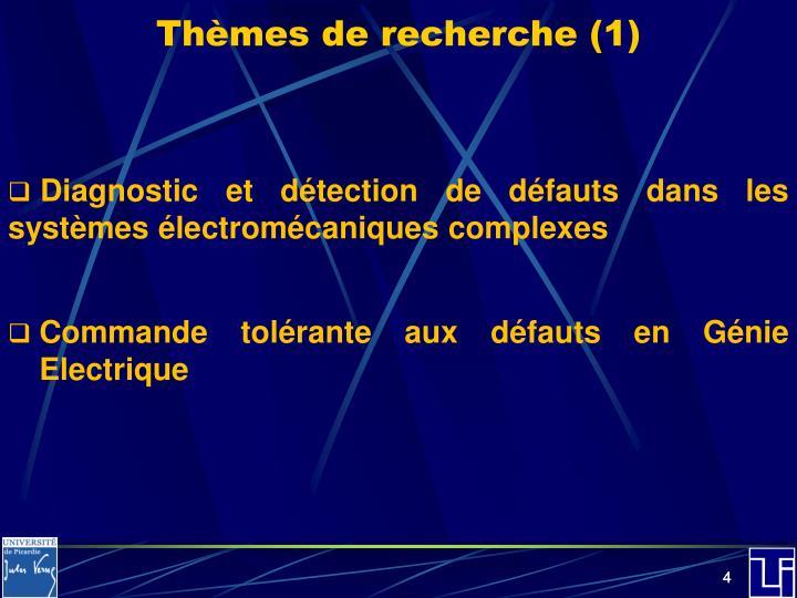 Thèmes de recherche (1)