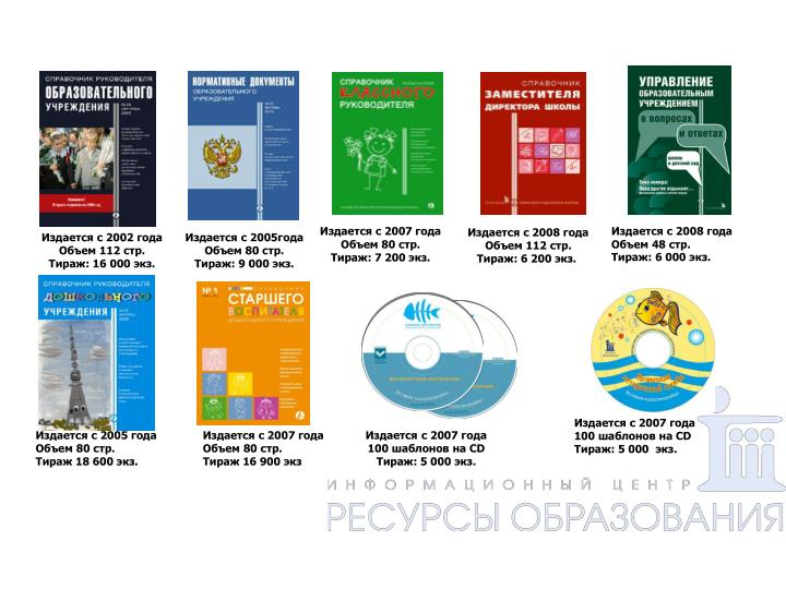 Полная линейка периодических издании центра