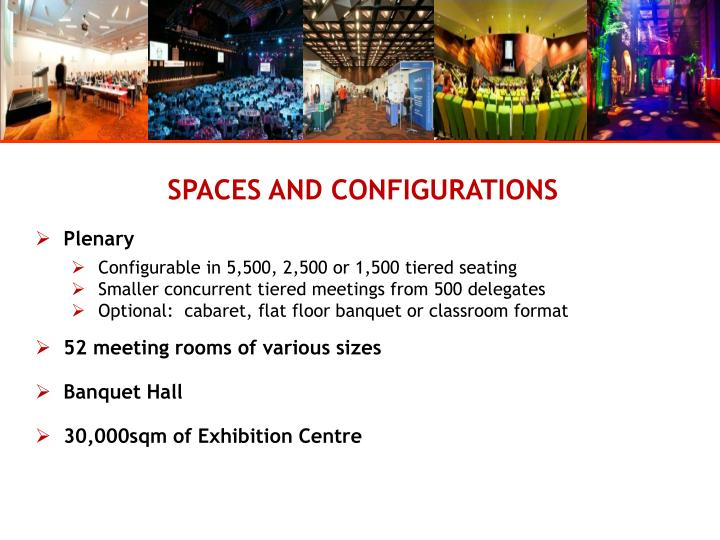 SPACES AND CONFIGURATIONS